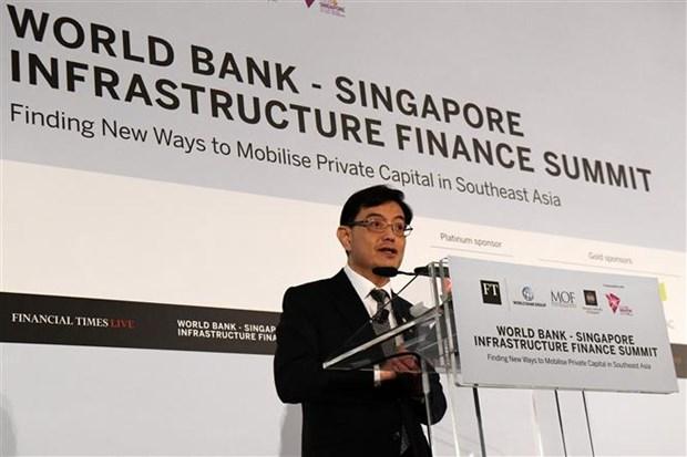 新加坡启动新机构推动亚洲基础设施建设 hinh anh 1