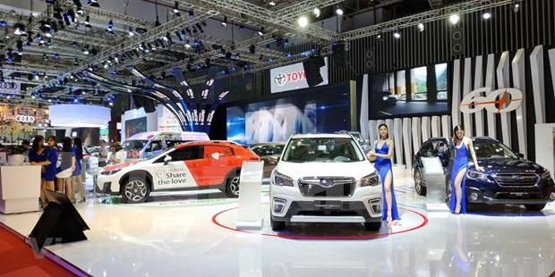 2018年越南汽车展览会展出近120款车型 hinh anh 1