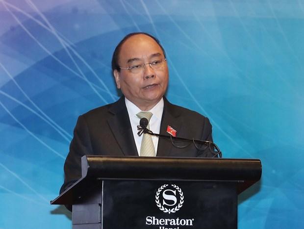 政府总理阮春福出席第三届东盟妇女工作部长会议 hinh anh 2