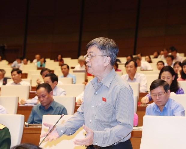 越南第十四届国会第六次会议公报(第四号) hinh anh 1