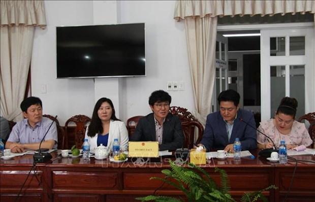 后江省与韩国加强合作发展农业价值链 hinh anh 1