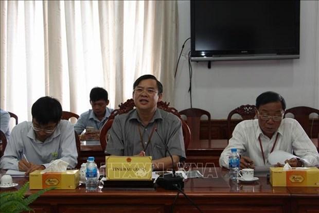 后江省与韩国加强合作发展农业价值链 hinh anh 2