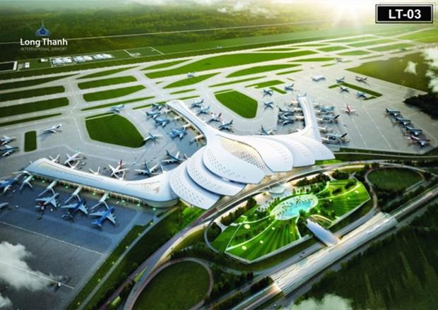 龙城国际航空港:经济发展的动力 hinh anh 1