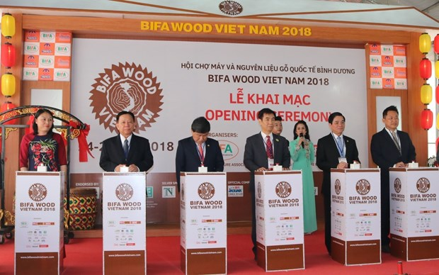 越南木制品企业迎来扩大合作的机会 hinh anh 1