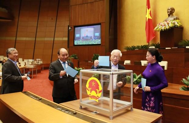 越南第十四届国会第六次会议公报(第三号) hinh anh 1
