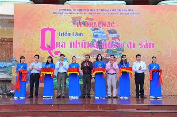 越南各地遗产图片展开幕 hinh anh 1