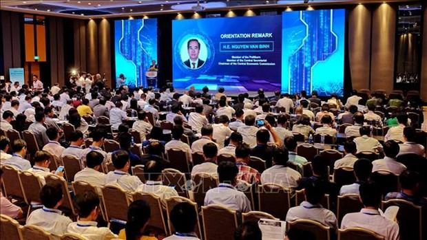 1200多名代表参加2018年越南智能物联网国际展及研讨会 hinh anh 1