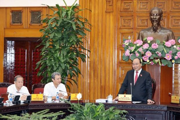 阮春福总理指示承天顺化省重视解决京城遗迹内被迁移的居民的就业问题 hinh anh 1