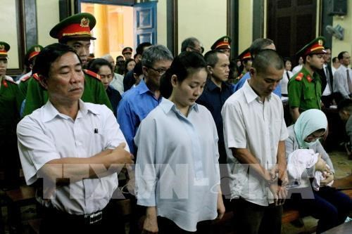越南大信银行损失超过6.3万亿越盾一案开庭复审 hinh anh 1