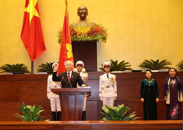 各国领导人继续致电祝贺越共中央总书记、国家主席阮富仲 hinh anh 1