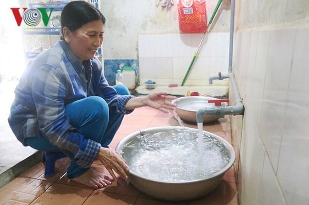 平福省贫困居民有机会用上清洁饮用水 hinh anh 1