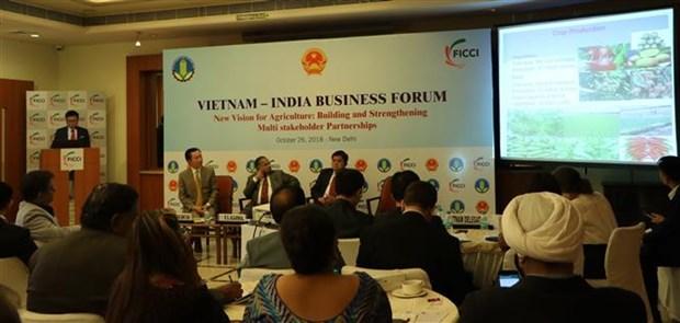 越南印度商务论坛为农业开创新愿景 hinh anh 1