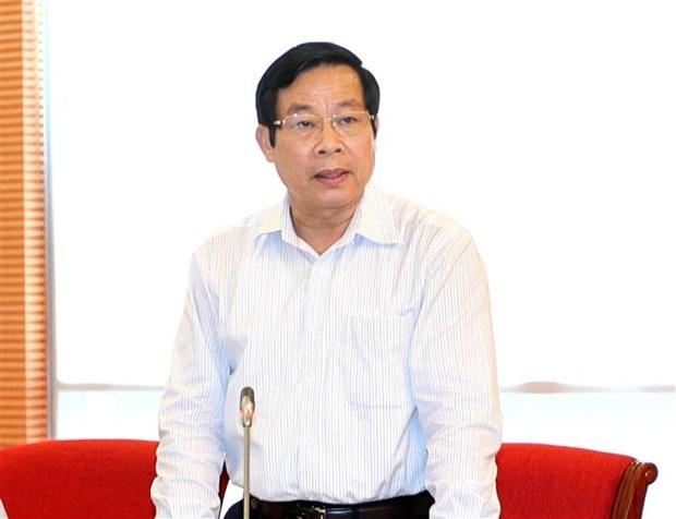 原信息传媒部部长阮北山受被给予纪律处分 hinh anh 1