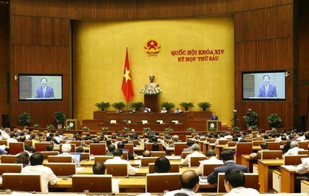 越南第十四届国会第六次会议讨论促进经济社会同步协调发展的措施 hinh anh 1