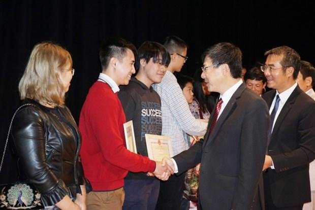 勤奋好学已成为旅捷越南人代代相传的优良传统 hinh anh 1