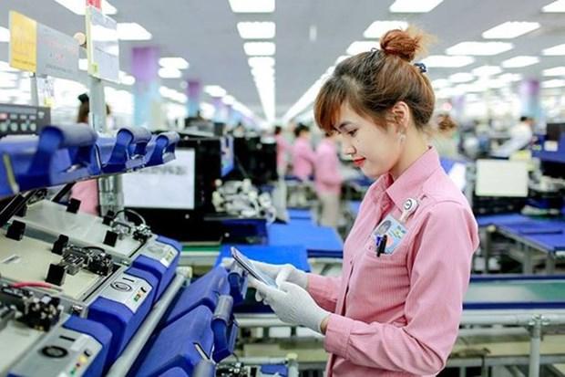 受中美贸易战的影响越南手机及零配件出口额大幅下降 hinh anh 1