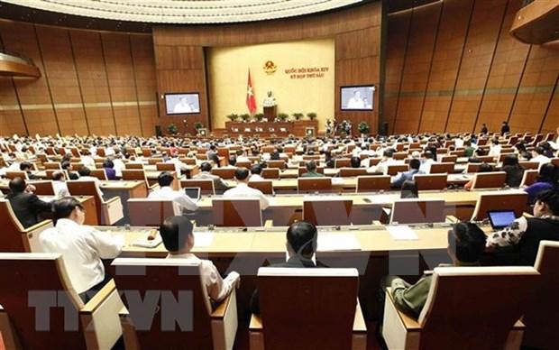 第十四届国会第六次会议:讨论国家财政预算和中期公共投资计划 hinh anh 1