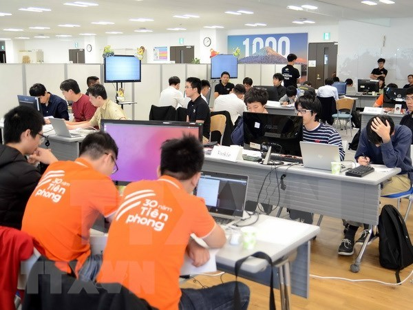 越日国际人工智能编程大赛总决赛在东京举行 hinh anh 1