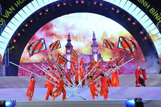 政府副总理武德儋出席2018年宁平省文化体育与旅游节开幕式 hinh anh 1