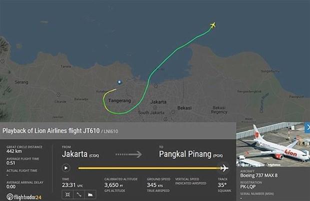 印尼一架客机坠毁 机上载有188人 hinh anh 1
