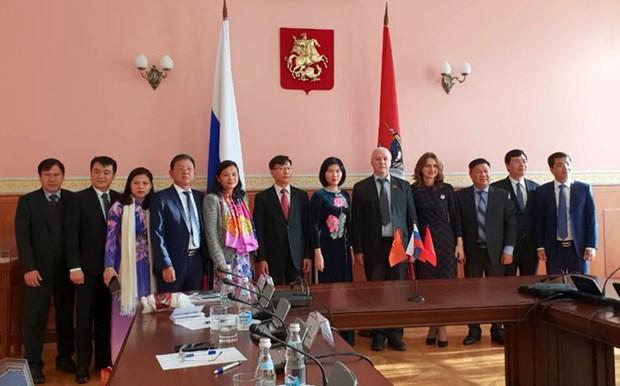 河内市代表团对俄罗斯和捷克共和国进行工作访问 hinh anh 1