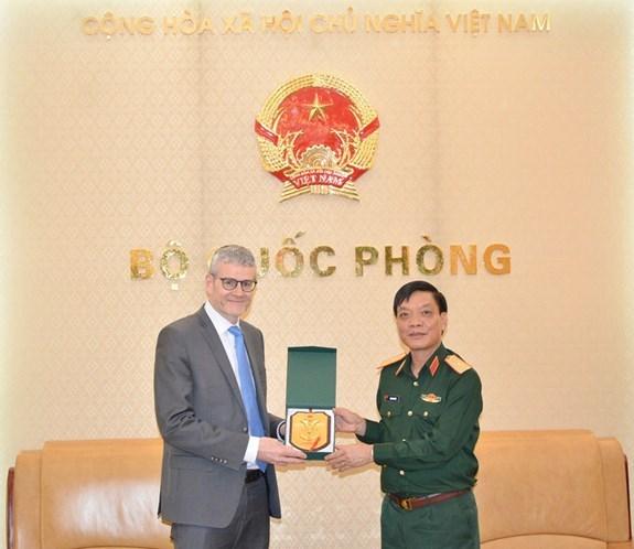 促进越南与新西兰之间的防务合作关系 hinh anh 1