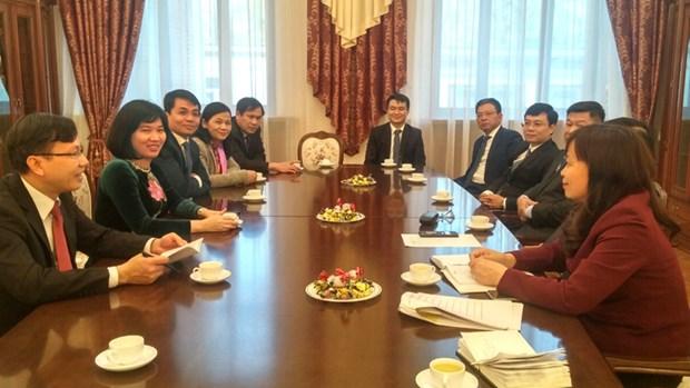河内市代表团对俄罗斯和捷克共和国进行工作访问 hinh anh 2