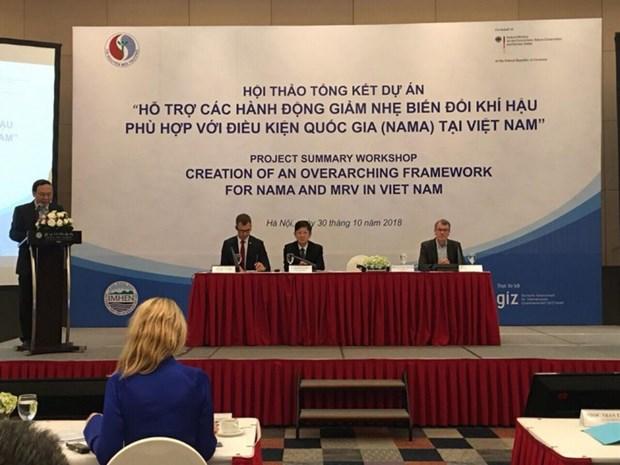 NAMA项目有助于协助越南应对气候变化 hinh anh 1