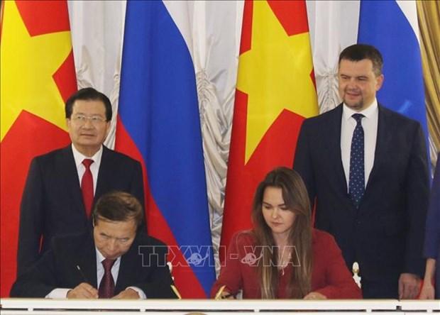 越俄政府间经贸科技合作联合委员会第21次会议召开 hinh anh 2