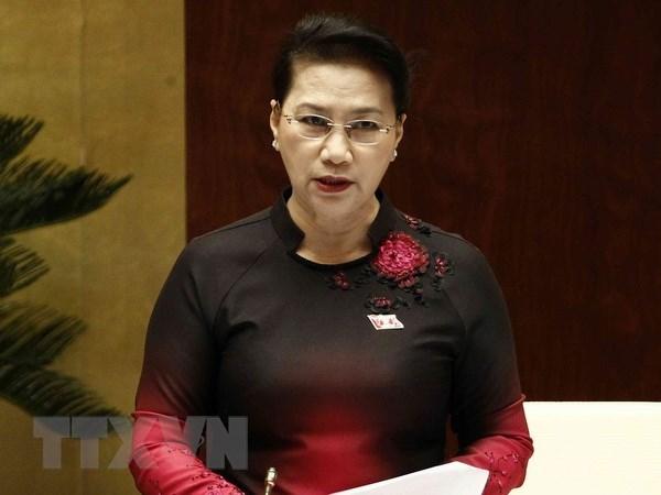越南第十四届国会第六次会议开始对受质询机关负责人进行质询 hinh anh 2