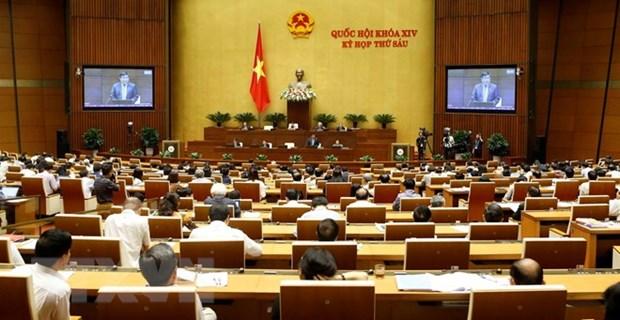 越南第十四届国会第六次会议:开展质询和答复质询活动 hinh anh 1