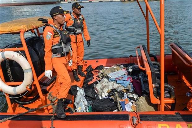 印尼客机坠海事件:佐科总统慰问遇难者家属 hinh anh 2