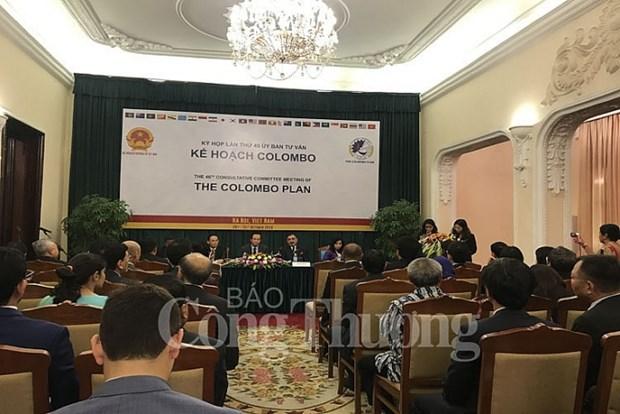 科伦坡计划咨询委员会第46次会议在河内举行 hinh anh 1
