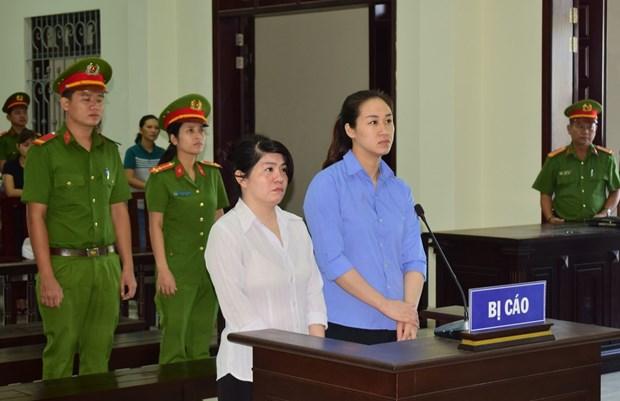 """西宁省人民法院以""""非法运输毒品""""罪开庭审理两名嫌疑人 hinh anh 1"""