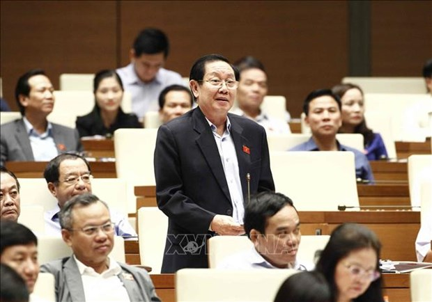 越南第十四届国会第六次会议:质询活动进入第二天 hinh anh 1