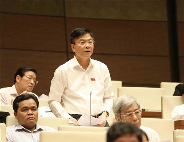 越南第十四届国会第六次会议:质询活动进入第二天 hinh anh 2