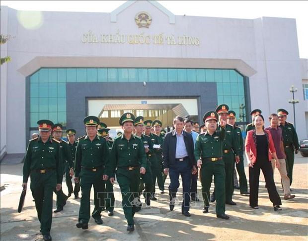 高平省为第五次越中边境国防友好交流活动做好准备工作 hinh anh 1