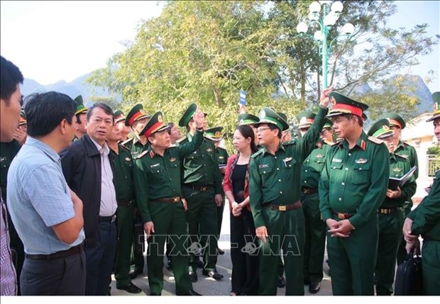 高平省为第五次越中边境国防友好交流活动做好准备工作 hinh anh 2