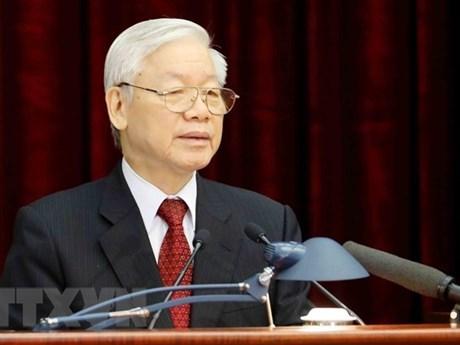 孟加拉国和哈萨克斯坦领导人向越共中央总书记、国家主席阮富仲致贺电 hinh anh 1