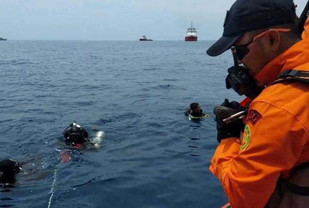 印尼客机坠海事件:发现疑似部分客机机身 hinh anh 1