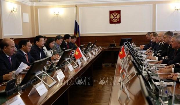 政府副总理郑廷勇会见俄罗斯企业代表 hinh anh 2