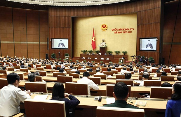 第十四届国会第六次会议:力争胜利实现全任期经济社会发展目标 hinh anh 1