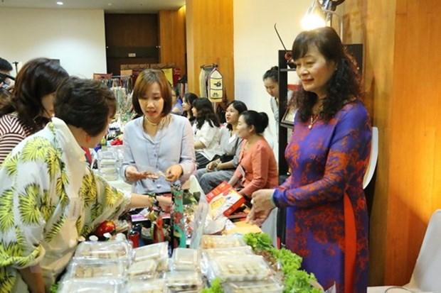 越南参加东盟妇女协会慈善博览会 hinh anh 1