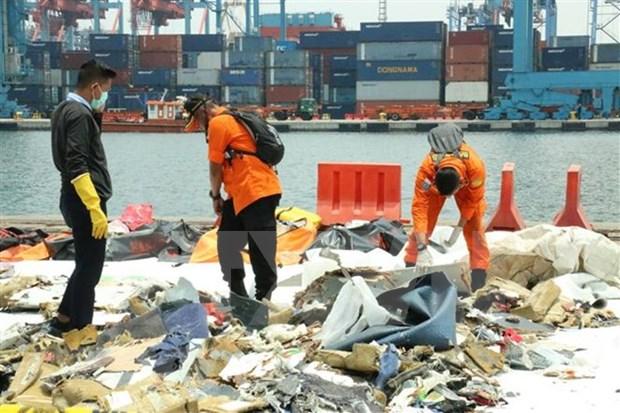 印尼客机坠海事件:飞机黑匣子仍保留完整状态 hinh anh 1