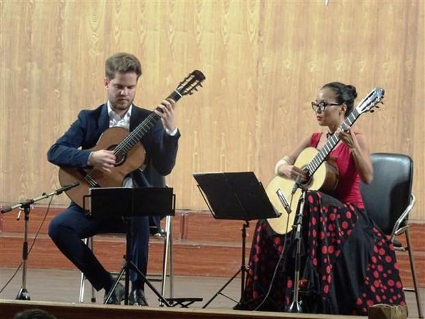 第五届西贡国际吉他艺术节在胡志明市举行 hinh anh 2
