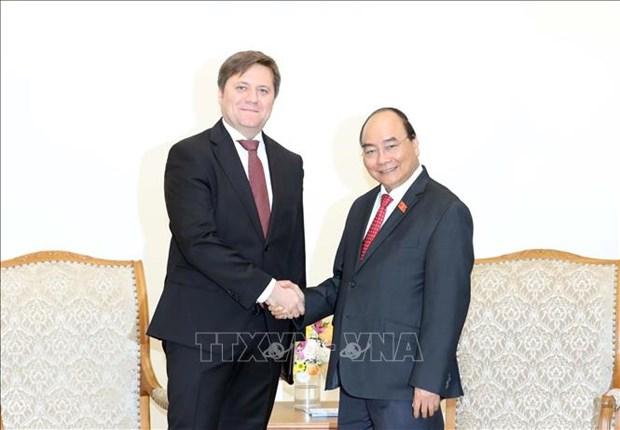 政府总理阮春福会见波兰驻越南大使沃伊切赫·加韦尔 hinh anh 1