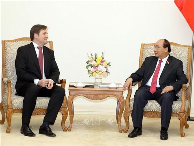 政府总理阮春福会见波兰驻越南大使沃伊切赫·加韦尔 hinh anh 2