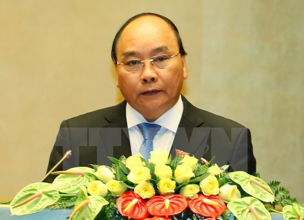 阮春福出席首届中国国际进口博览会:促进越中经贸合作深化升级 hinh anh 1