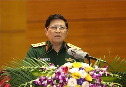 越南人民军高级军事代表团访问澳大利亚与新西兰 hinh anh 1