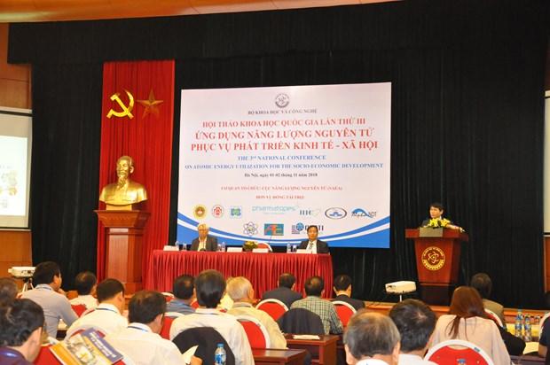越南努力应用原子能服务经济社会发展事业 hinh anh 1